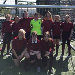 Girls District Football