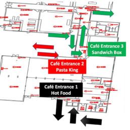Café Entrances