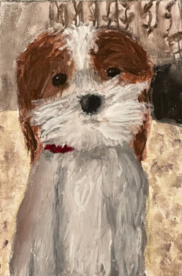 Poppy, Isabelle Ramsay, Gouche paint
