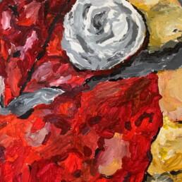 Strawberry Turnover, Chloe McCreary, Acrylic paint