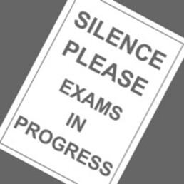 Exam posters